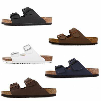 Birkenstock Arizona Schuhe Sandalen Pantoletten Birko-Flor Klassische Farben