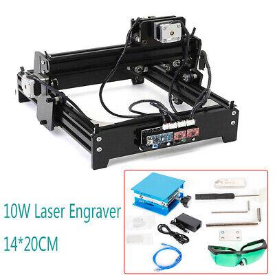 Usb Cnc Laser Engraving Cutting Machine Desktop Metal Stone Printer Cutter 10w