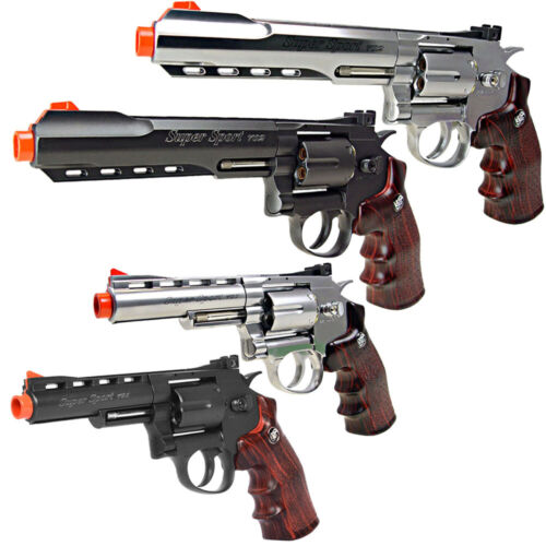 WinGun Full Metal High Power Co2 Non-Blowback Airsoft Revolver CNB-701 702 703
