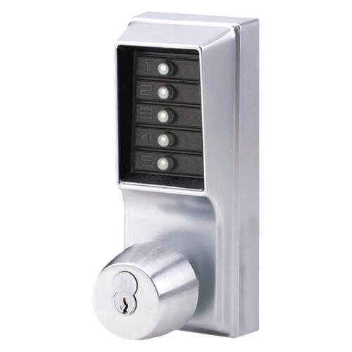 KABA Simplex Mechanical Combination Push Button Lockset, Knob, 1021B26D41