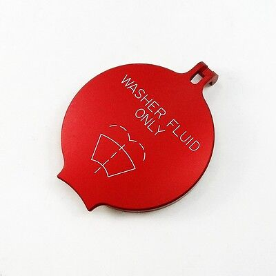 04-10 Billet Washer Fluid Cap Technology Red Fit Charger 300 JEEP Ram -
