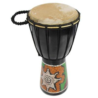 A-Star 6 inch Painted Djembe BDJ630