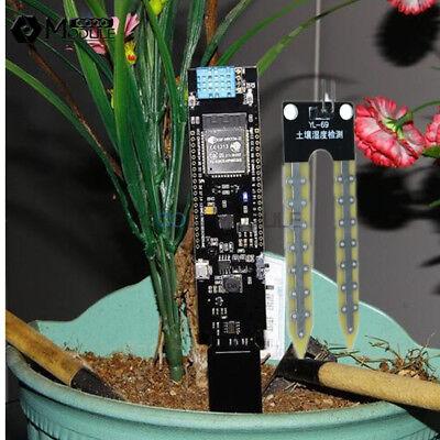 Esp32 Wifi Bluetooth Cp2104 Dht11 Soil Temperature Humidity Sensor Detector