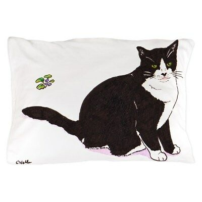 "CafePress Tux Cat Standard Size Pillow Case, 20""x30"""