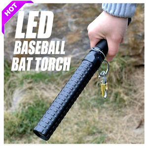 3 Modes LED CREE Q5 Tactical Baseball Bat Long Security Flashlight Torch Lamp OZ