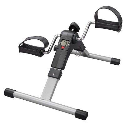 folding lcd mini pedal exerciser aerobic exercise