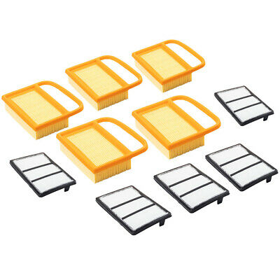 5 New Air Filter Kit For Stihl Ts410 Ts420 Ts480 Ts500i Concrete Cut-off Saws
