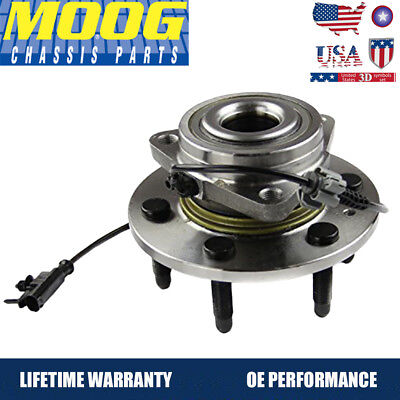 Avalanche Escalade Tahoe Crew Cab - MOOG Front Wheel Hub and Bearing Assembly for Sierra Suburban Tahoe Silverado