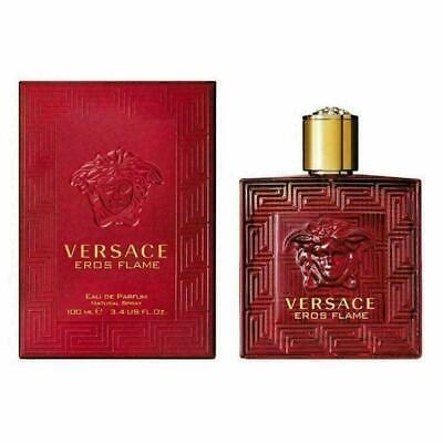 Versace Eros Flame for Men Eau de Parfum 100ml Spray Brand New Sealed Box