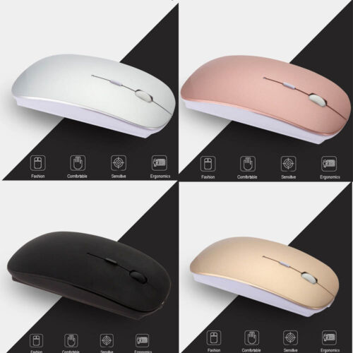 Wireless Bluetooth Mouse For Macbook Air Pro Win10/Mac Lapto
