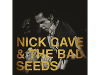 2 x Nick Cave & The Bad Seeds standing tickets Manchester Arena Monday 25th September