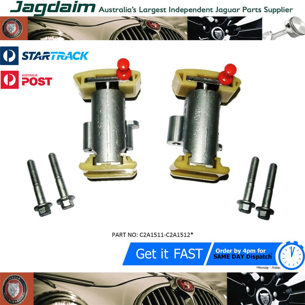 New Jaguar XJ8 XK8 XKR Top Tensioners C2A1511 And C2A1512