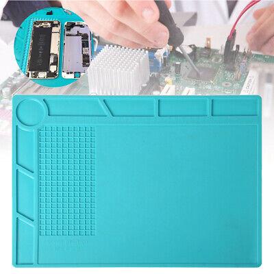 Desktop Anti Static Esd Heat Insulation Work Mat Phone Pc Tablet Repair 13 X 9in