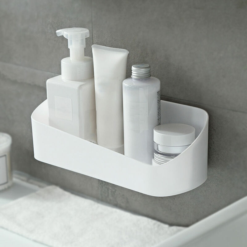 Duschablage Duschkorb Duschregal Badablage für Duschstange ohne Bohren Neu