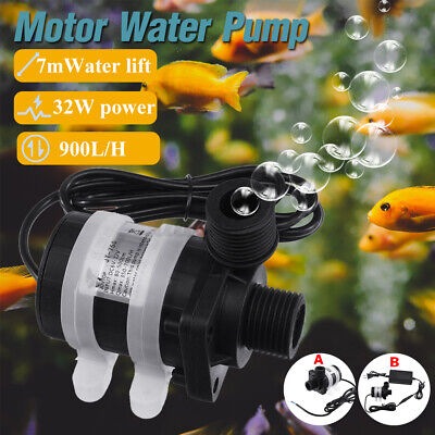 Ultra Quiet Dc 12v 32w Lift 7m 900lh Brushless Motor Submersible Water Pump L