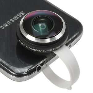 Universal Super Fish Eye Lens 235 Degree Clip On for iPhone4 4S 5/Samsung/HTC/LG