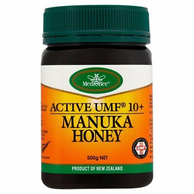 Medibee Manuka Honey UMF 10+ 500g Product of New Zealand Best Before: 10/05/2020