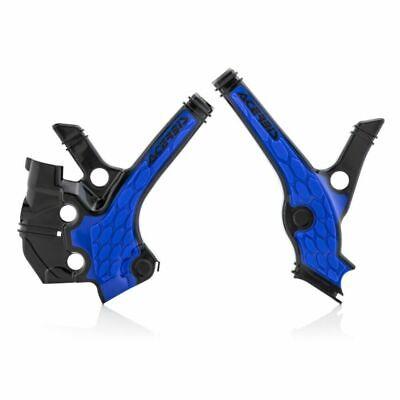 ACERBIS X GRIP FRAME GUARDS PROTECTORS YAMAHA YZ 65 2019 2020 BLACK BLUE MX NEW