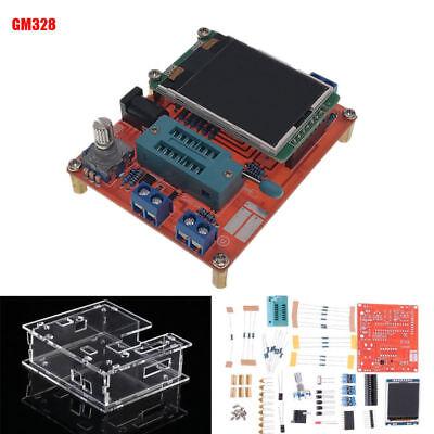 2018 Version Transistor Tester Lcr Diode Capacitance Esr Meter Signal Generator
