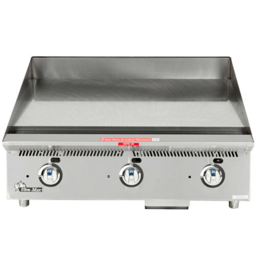 "Star 848ma 48"" Countertop Gas Griddle W/ Manual Controls"