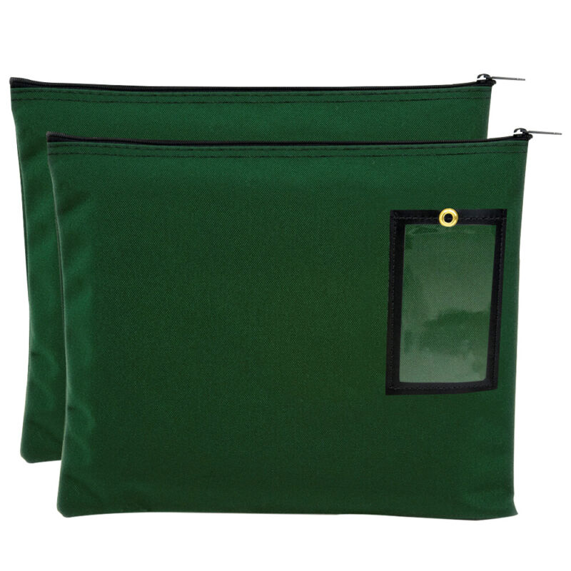 Secure Document Bags - 14W x 11H File Tote - Office Bag Set of 2