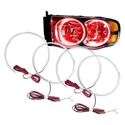 For Dodge Ram 1500 02-05 Oracle Lighting SMD Red Dual Halo kit for Headlights
