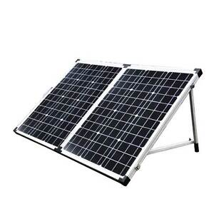 12V 120W Folding Solar Panel Mono Boat Camping Power Charging Ki North Melbourne Melbourne City Preview