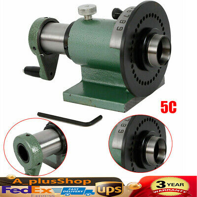 5c Precision Spin Index Fixture Collet For Cnc Milling Grinding Machine Us Ship
