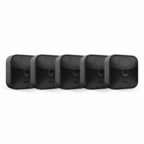 Blink Outdoor 3RD GEN HD 2-year Battery Life Wireless Motion, 5 Cameras Kit