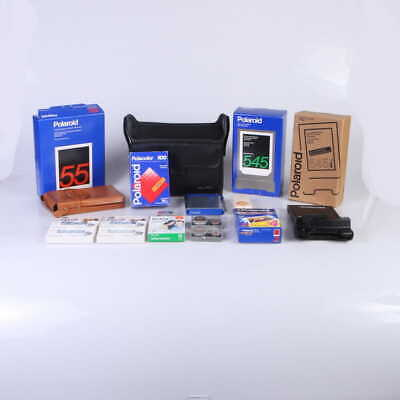 Lot of Polaroid Film and Camera Accessories (Film Photography) - (AI)