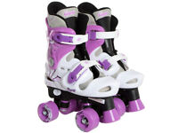 Osprey Girls Quad Roller Skates Size 1-3
