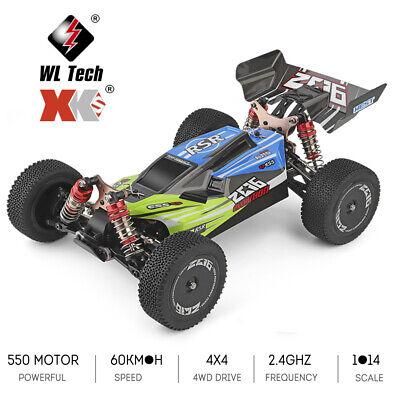 Wltoys XKS 144001 RC Car 60km/h 1/14 2.4GHz 4WD Off-Road Drift RTR Gift US I4E2