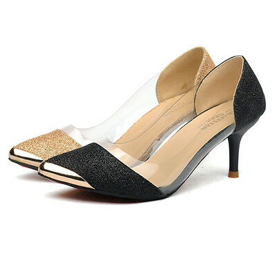 New Sexy Women Casual Pointed Toe Pumps High Heels Party Wedding Shoes Pumps  6