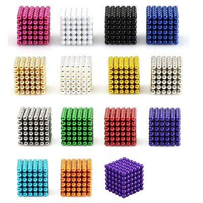 35mm Magnetic Magic Balls Beads 3d Puzzle Fidget Balls Sphere Brain Work 216-1k