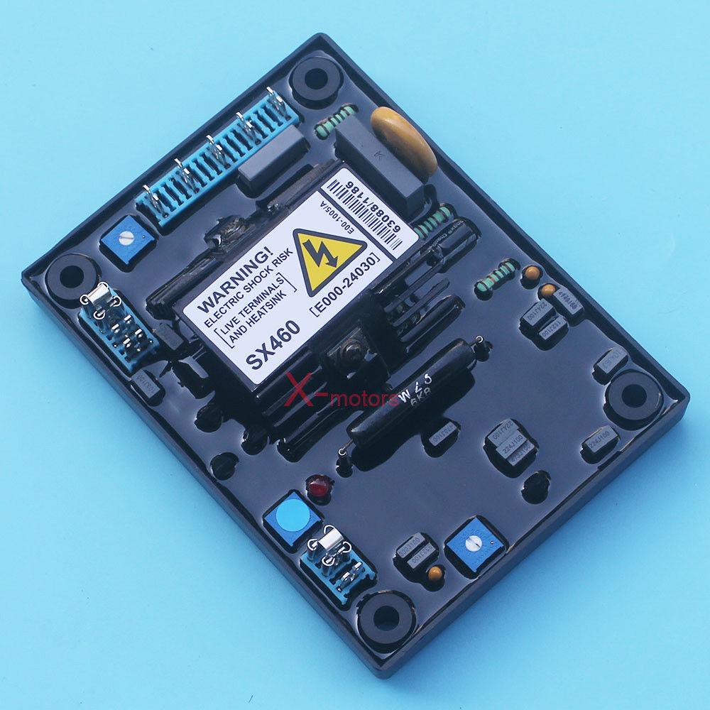 New AVR SX460 Automatic Volt Voltage Regulator For Stamford Generator W// Manual