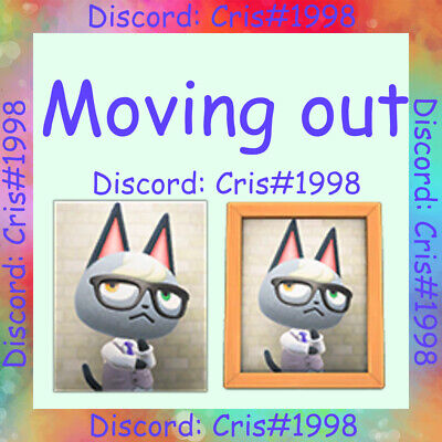 🏠Animal Crossing New Horizons🏠 Raymond Moving Out (Same day delivery)