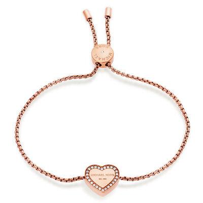 Michael Kors MKJ5391791 Armband IP-Rose Herz Glassteine *NEU* 20% Rabatt