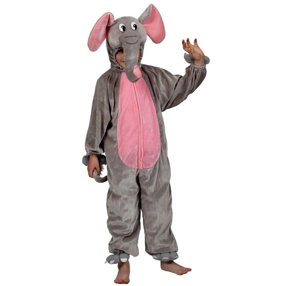 Costume da Bambino Animale Elefante Natura Zoo Wildlife libro settimana