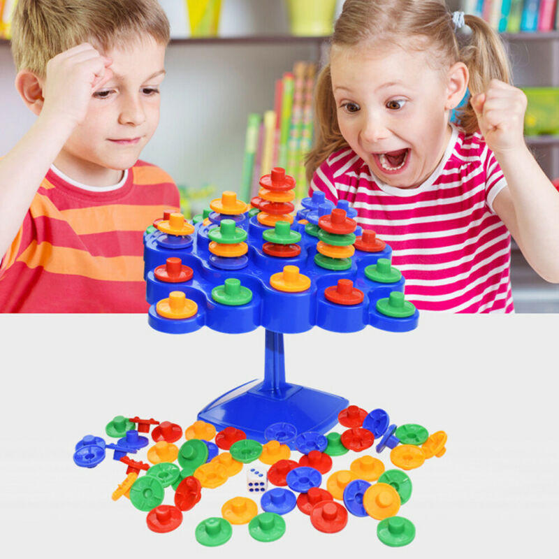 Tip Topple Tumble Strategy Balancing Skill For Family Board Game Kids Toys Gifts Board & Traditional Games