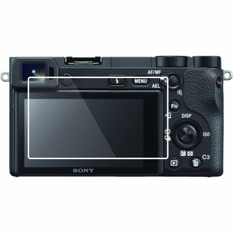 2 Sets HD LCD Screen Protector-Sony A6500 Bubble Free Anti-Smudge Easy to Apply