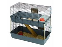 Rabbit / Guinea Pig Double Decker Cage with Ramp