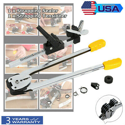 Usa Manual Strapping Machine Set Packing Tool For Pp Strap Sealer Tensioner