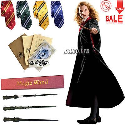 Harry Potter-gryffindor Krawatte (Harry Potter Gryffindor Robe Kostüm Leuchtzauberstab LED Wand Schal Krawatte )