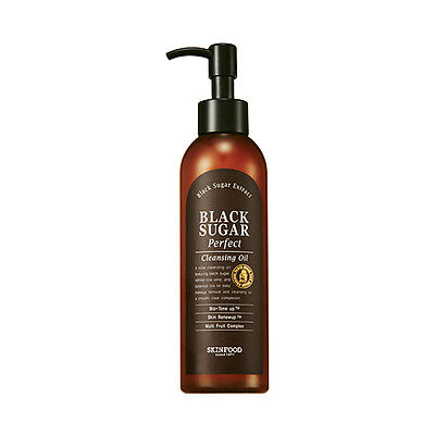 SKINFOOD [Skin Food] Black Sugar Perfect Cleansing Oil 200ml Free gifts
