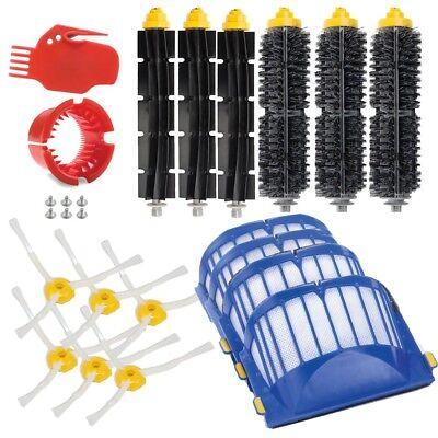 - For iRobot Roomba 600 Series 610 620 650 Side Brush/Filters/Replenishment Kit US