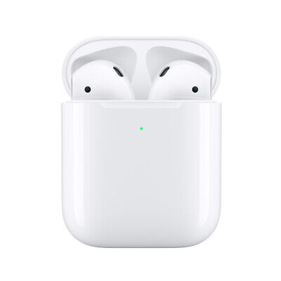 Apple AirPods+Wireless Charging Case +USB Cablle MRXJ2AM/A A2032 A2031 A1938