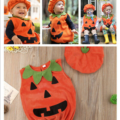 NEW CANIS Halloween costume for KIDS Newborn Baby CUTE Pumpkin (Baby Halloween Costumes Pumpkin)