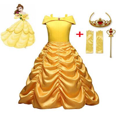Die Schöne und das Biest Prinzessin Belle Kostüm - Die Schöne Und Das Biest Kostüme