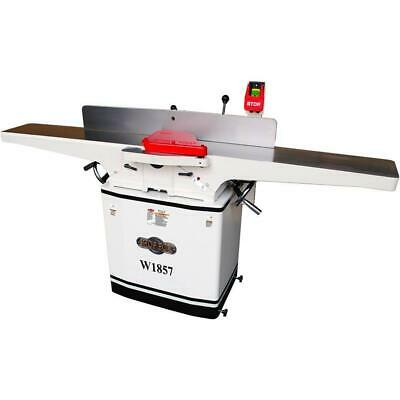 Shop Fox W1857 8 Inch X 72 Inch Built-in Mobile Base Dovetail Jointer