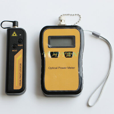 -706dbm Optical Power Meter 10mw Visual Fault Locator Fiber Cable Tester